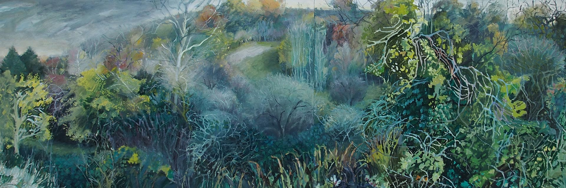 Gloucestershire landscape Karen Bowers