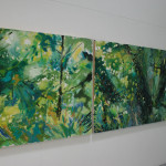 Green Wood (installation view)
